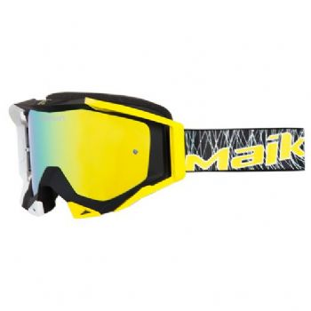 Maikun LEGO Goggles Black with Gold Lens
